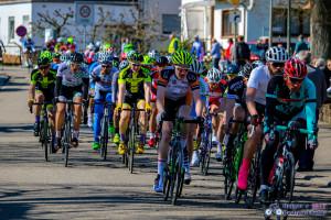Marti Richter beim Rennen in Lustadt. Foto: Holgers Radsportfotos